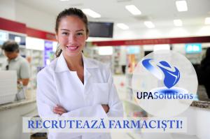 UPA Recrutează farmacişti
